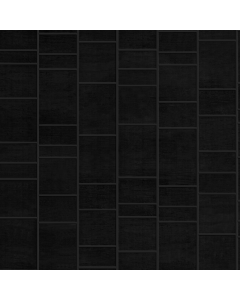 Aquabord PVC Tongue & Groove - Black Tile Effect