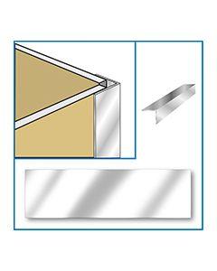 Aquabord External Corner - Chrome