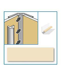 Aquabord Internal Corner - Cream