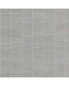 Aquabord PVC Tongue & Groove - Light Grey Tile Effect