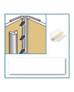 Aquabord Internal Corner - White